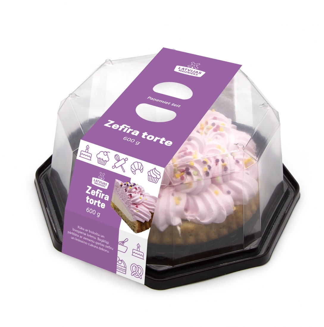 Marshmallow cake 600g