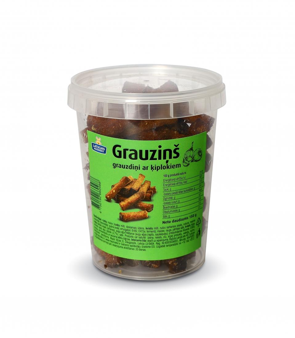 Grauzdiņš with garlic 150g