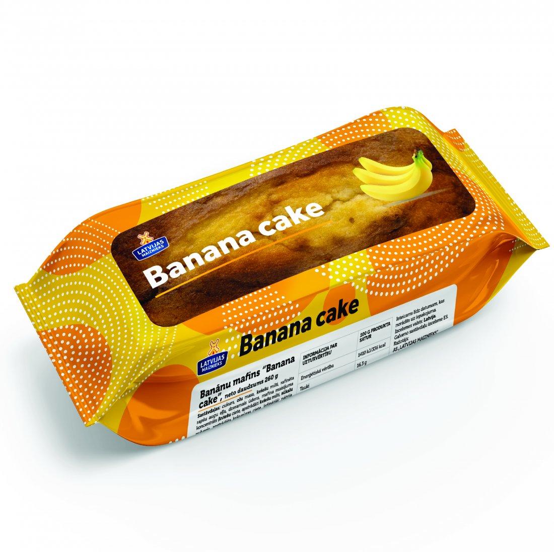 NEW! Banana cake