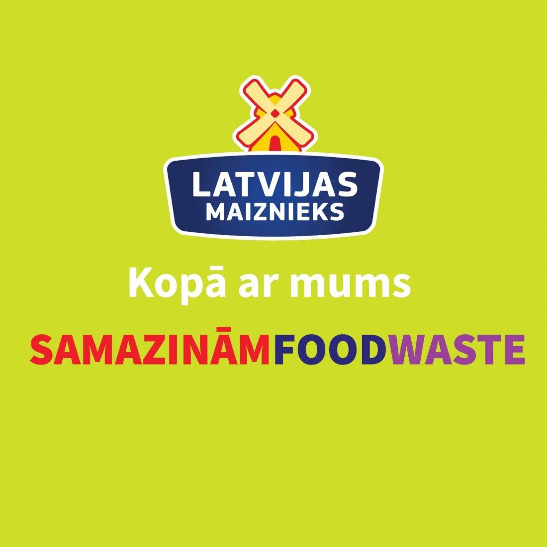 Samazinām Food Waste kopā!