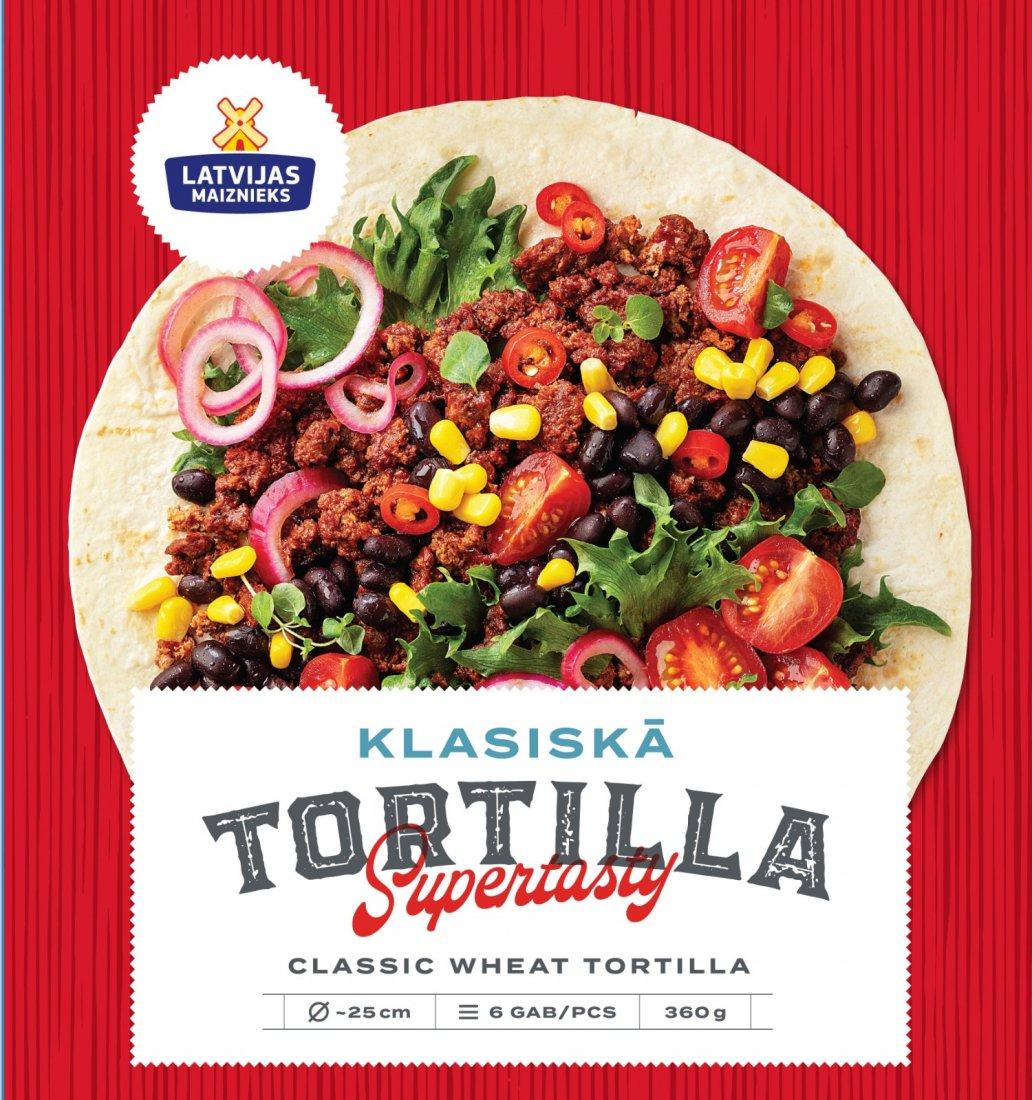 NEW! Classic Wheat Tortilla