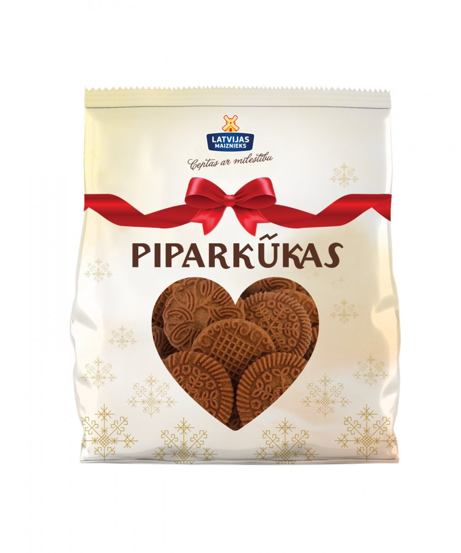 "НОВИНКА! Пряничное печенье ""Piparkūkas"""