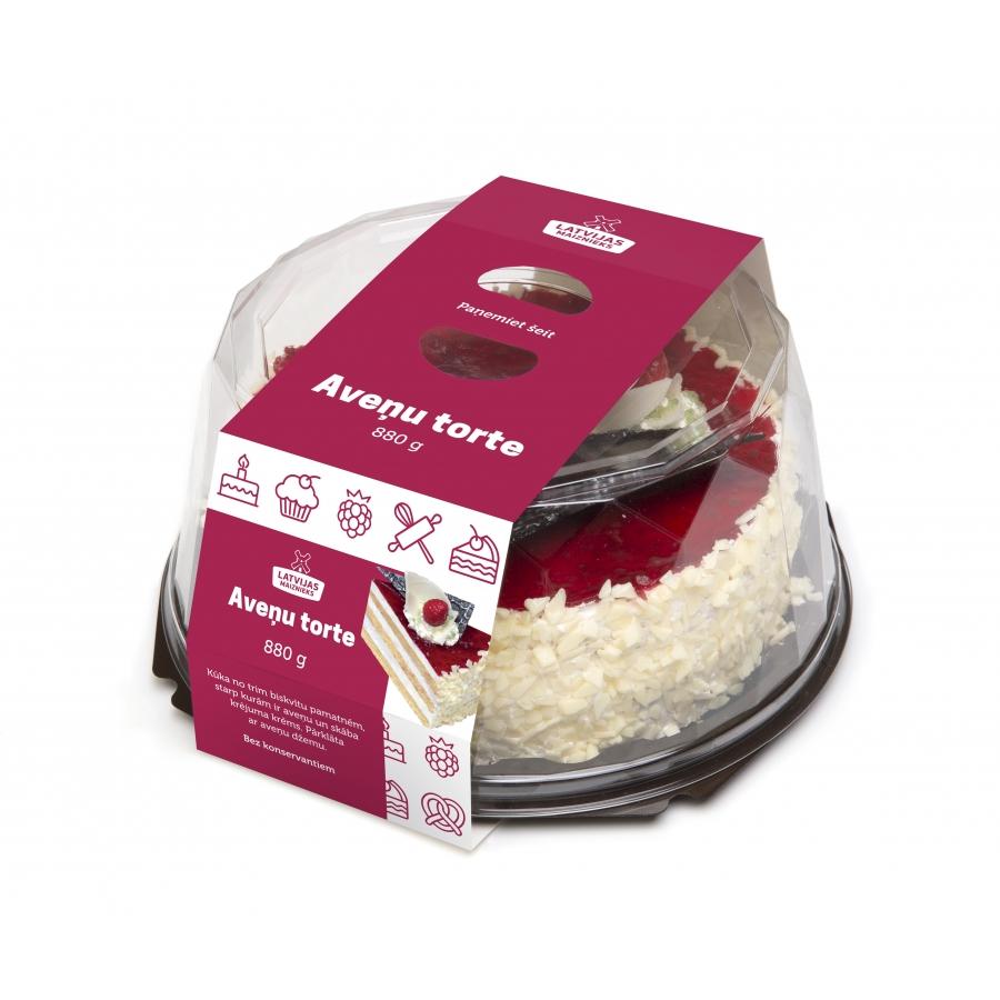 Mалиновый торт