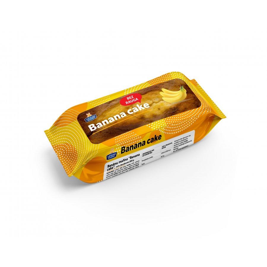 "Банановый маффин ""Banana cake"""