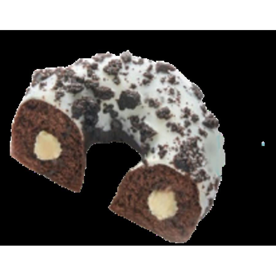 Пончик Cookie с ванильной начинкой