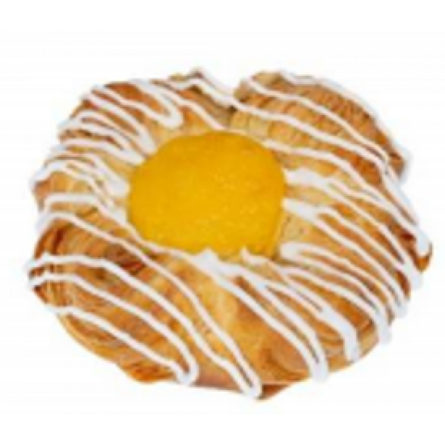 Датская булочка в ванильной начинкой