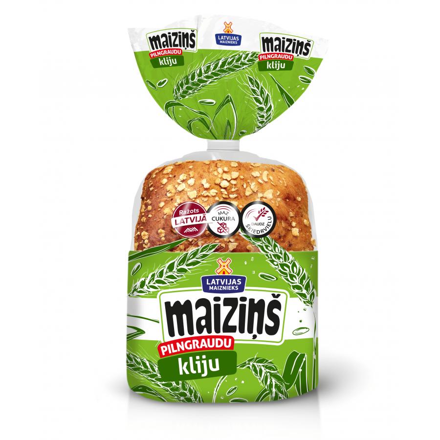 """""""MAIZIŅŠ"""" whole grain buns with gran"""