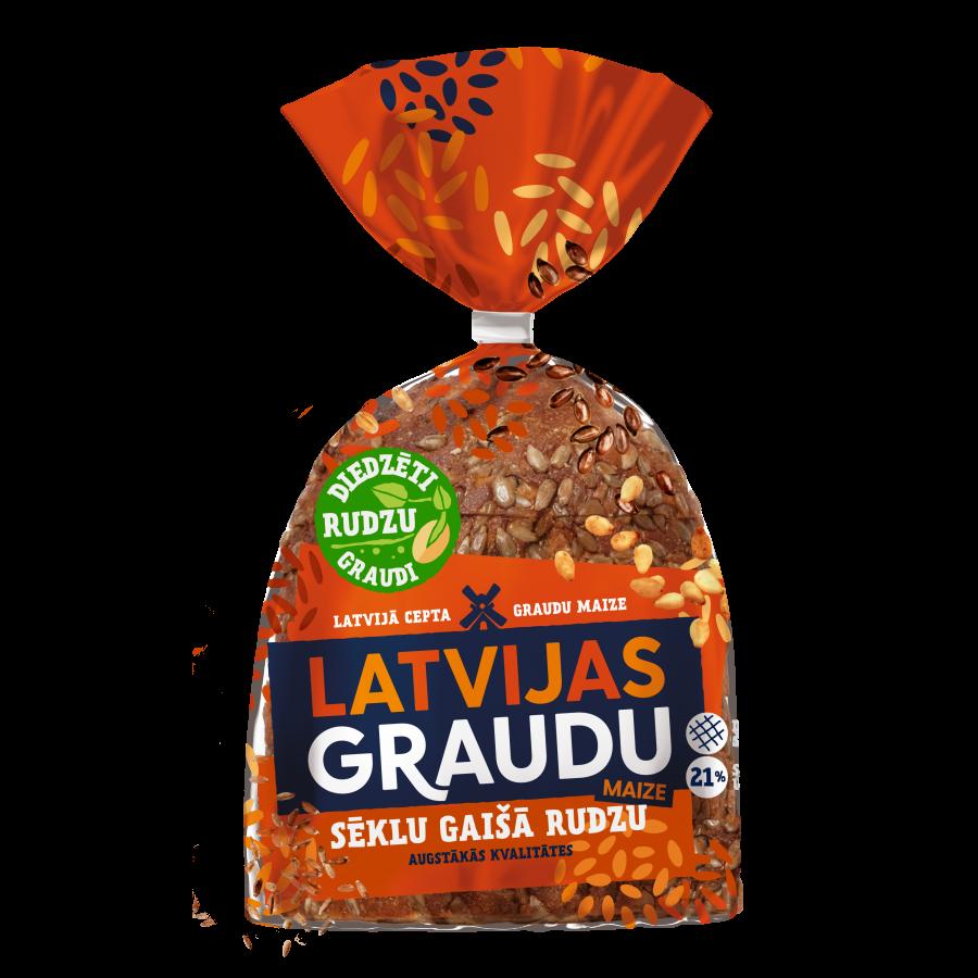 LATVIJAS GRAUDU светлый ржаной хлеб с семечками