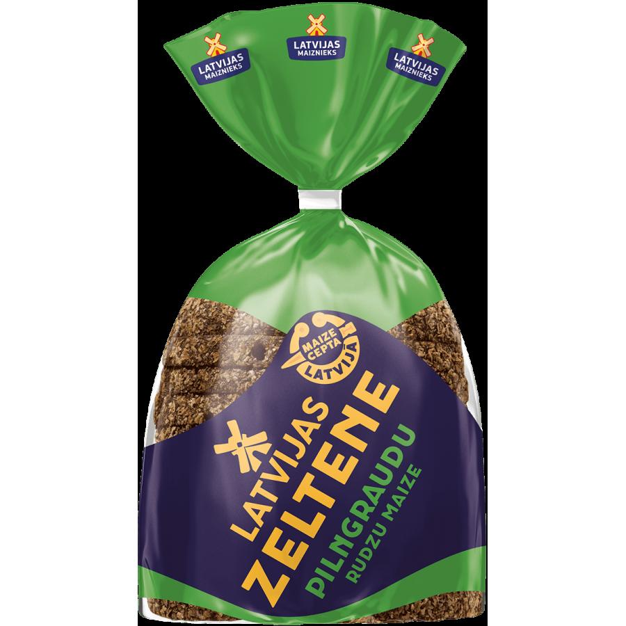 Zeltene whole grain rye bread